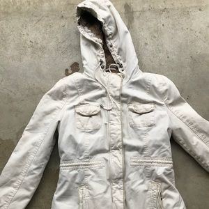 Abercrombie Fitch women's Sherpa lined military